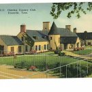 KNOXVILLE TN CHEROKEE COUNTRY CLUB POSTCARD
