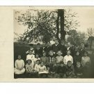 RPPC HEPBURN OHIO OH SCHOOL 1913  KENTON LAUBIS HOUSES