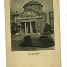COLUMBIA UNIVERSITY NEW YORK NY  CHAPEL   POSTCARD