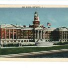 PAWTUCKET RHODE ISLAND RI HIGH SCHOOL 1944 POSTCARD
