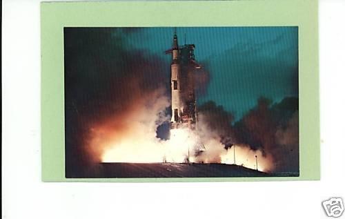 APOLLO 14 LIFTOFF KENNEDY SPACE CENTER NASA 1971