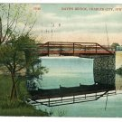 CHARLES CITY IOWA IA BAYON BRIDGE  POSTCARD