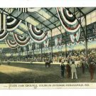 INDIANAPOLIS IN STATE FAIR GROUNDS COLISEUM  POSTCARD