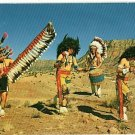 INDIAN DANCERS GALLUP NM NEW MEXICO CEREMONIAL POSTCARD