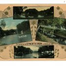 LINCOLN NEBRASKA NE EPWORTH PARK SCENES POSTCARD