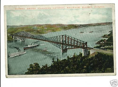 CANADIAN NATIONAL RAILWAY BRIDGE QUEBEC CANADA