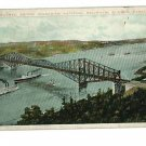 CANADIAN NATIONAL RAILWAY BRIDGE QUEBEC CANADA