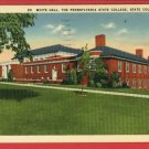 STATE COLLEGE PA WHITE HALL PENNSYLVANIA STATE POSTCARD