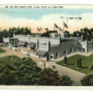 CEDAR POINT OHIO OH YE OLD CASTLE GRILL 1925 POSTCARD
