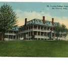 MT VERNON OHIO OH  COLLEGE ACADEMIA 1914  POSTCARD