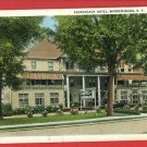 WARRENSBURG NY NEW YORK ADIRONDACK HOTEL  POSTCARD