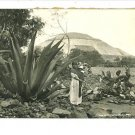 SAN JUAN TEOTIHUACAN MEXICO MOTHER BABY YASEZ RPPC