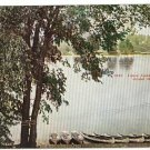 GRAND RAPIDS  MICHIGAN CANOE LANDING N PARK  POSTCARD