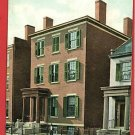 RICHMOND VIRGINIA GENERAL LEE RESIDENCE BLACKS POSTCARD