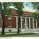 NAPOLEON OHIO OH US POST OFFICE POSTCARD SHAFF'S DRUG