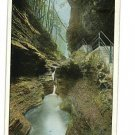 WATKINS NEW YORK FALLS OF PLUTO VINTAGE POSTCARD 1913