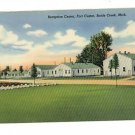 BATTLE CREEK MICHIGAN  FORT CUSTER   RECEPTION CENTER