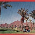 PHOENIX ARIZONA GOLFING GOLF CART 1963 POSTCARD