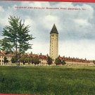 SHERIDAN ILLINOIS IL BARRACKS INFANTRY CAVALRY POSTCARD