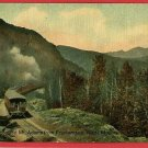 FRANKENSTEIN NEW HAMPSHIRE NH RAILROAD TRAIN  POSTCARD