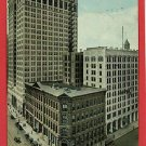 DETROIT MICHIGAN MI DIME BANK FREE PRESS BLDG POSTCARD