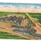 LIMA OHIO OH LOCOMOTIVE WORKS TRAIN  1956 POSTCARD