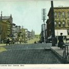 CANTON OHIO TUSCARORA BUSINESS COLLEGE BICYLCE POSTCARD