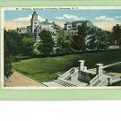 SYRACUSE NEW YORK UNIVERSITY CAMPUS 1922 POSTCARD