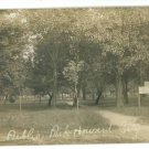 RPPC HOWARD CITY MI MICHIGAN PUBLIC PARK '09 RP POSTCRD