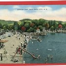 RAPID CITY SOUTH DAKOTA CANYON LAKE SWIMMING POSTCARD