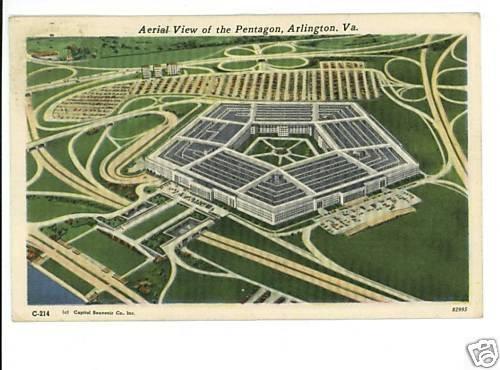 ARLINGTON VIRGINIA PENTAGON 1955 VICE PRESIDENT NIXON