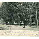 ASHTABULA OHIO NORTH PARK UNDIVIDED BACK POSTCARD
