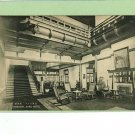 NARA JAPAN HOTEL CORRIDOR GOVERNMENT RAILWAYS POSTCARD