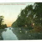 SANDWICH CANADA LAGOON CANAL WINDSOR  POSTCARD