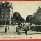 RENNES FRANCE PONT ST GEORGES GORE PEOPLE POSTCARD
