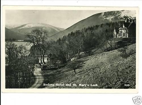 RPPC RODONO HOTEL ST. MARY'S LOCH NORFOLK UK 1960