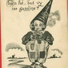 DAFFYDILL DUNCE CAP DUTCH CLOWN GASOLINE  POSTCARD