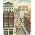 WICHITA FALLS TEXAS DOWNTOWN 1955 POSTCARD