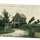 MT. PLEASANT MICHIGAN RIVERSIDE CEMETERY 1909 POSTCARD