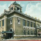 ST JOSEPH MISSOURI  AUDITORIUM HORSE BICYCLE  POSTCARD