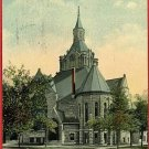 STREATOR ILLINOIS FIRST M E CHURCH 1916 POSTCARD
