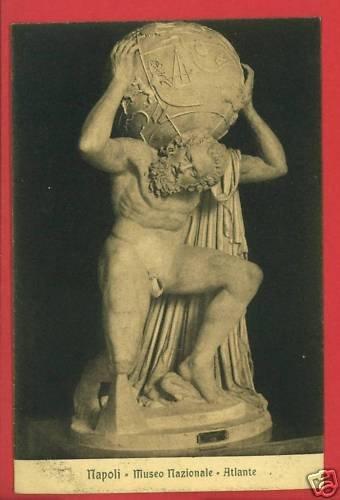 NAPOLI ITALY MUSEO NAZIONALE ATLANTE POSTCARD