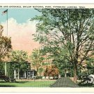 PITTSBURG LANDING TN HEADQUARTERS ENTRANCE  POSTCARD