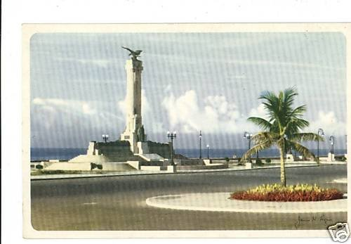 HAVANA CUBA MAINE MONUMENT CHICAGO & SOUTHERN  POSTCARD