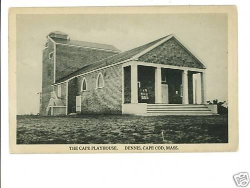 Dennis Cape Cod Ma Massachusetts  Playhouse postcard