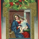 CHRISTMAS WINSCH MIGNARD 1910 MADONNA CHILD POSTCARD