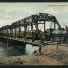 OVERLAND LIMITED TRAIN SANTA FE 1907 BAYLIS  POSTCARD