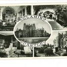 RPPC GLAMIS CASTLE  CRYPT DRAWING ROOM GARDENS SITTING