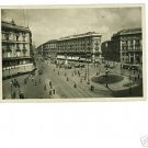 Milano Italy Largo Cordusio e Via Dante RPPC 1945 APO