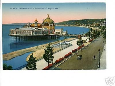 Nice Jetee FRANCE  Promenade des Anglais Postcard